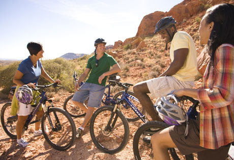 Bicycling in Las Vegas, NV pic