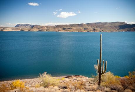 Lake in Arizona pic